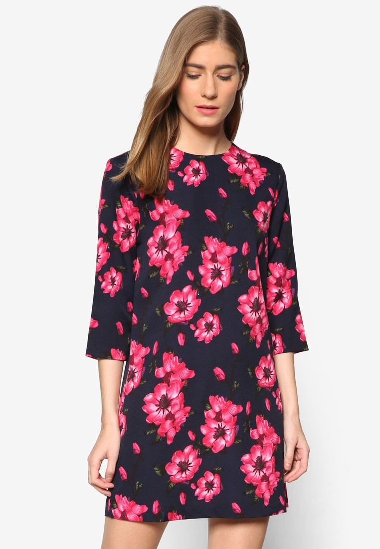 Collection Boat Neck Shift Dress