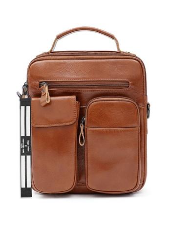 Twenty Eight Shoes Handmade Vintage Leather Sling Bag QYE6511 852CFACE336324GS_1