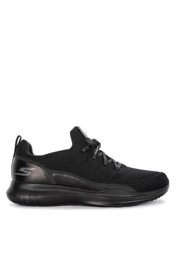 Skechers black Go Run Mojo Radar Mesh Slip On Jogger Shoes D399ESHA95328AGS_1