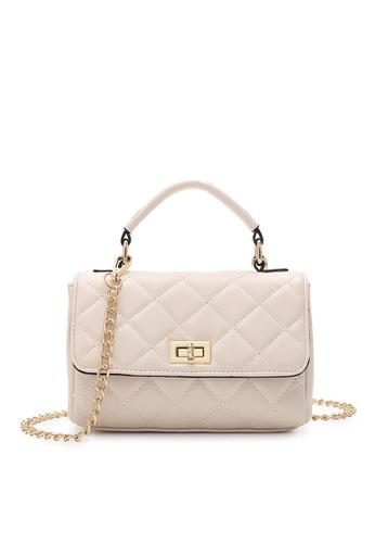 Volkswagen beige Women's Hand Bag / Top Handle Bag FBB31ACF71E686GS_1