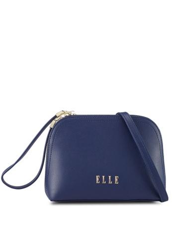 ELLE navy Elayna Sling Bag 0718EACF48D462GS_1