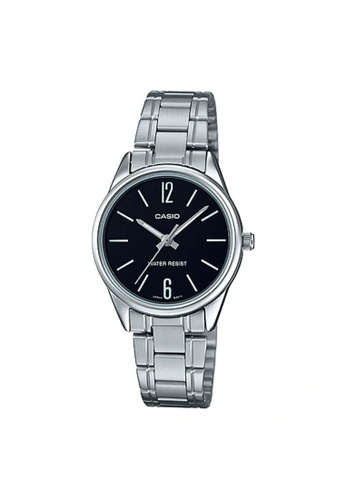 Casio silver Casio Women's Analog LTP-V005D-1AUDF Stainless Steel Band Casual Watch 3F2A2AC0B0518AGS_1