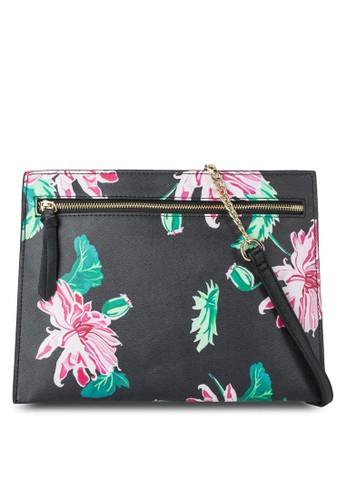 花卉印花手esprit專櫃拿包, 包, 手拿包
