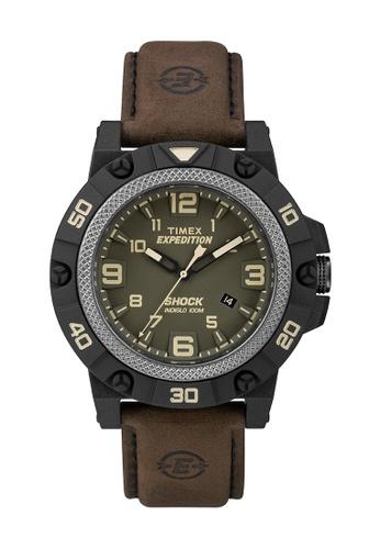 TIMEX brown Timex Expedition® Field Shock - TW4B01200 TI205AC0RDJDMY_1