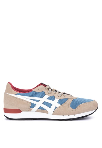 Onitsuka Tiger brown and multi Alvarado Lace-up Sneakers EF684SH2F92BCEGS_1