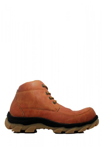 Cut Engineer brown Cut Engineer Stronger Safety Boots Leather Brown 75DD5SH439AF8BGS_1