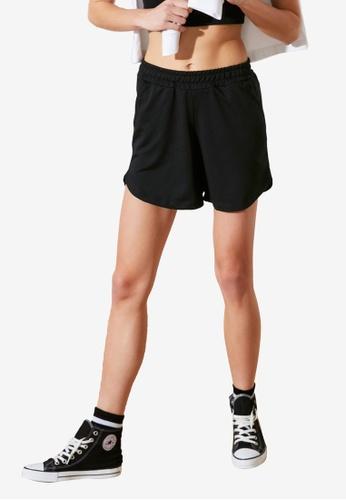Trendyol black Knitted Shorts C73B8AA7F07E52GS_1