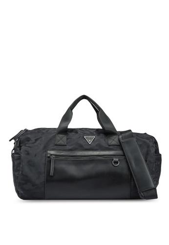 Guess black Dyson Round Duffle Bag DC20DAC4C5F8F6GS_1