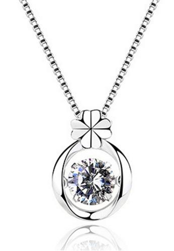 LYCKA silver LPP88046 S925 Silver Necklace D7506AC9194674GS_1