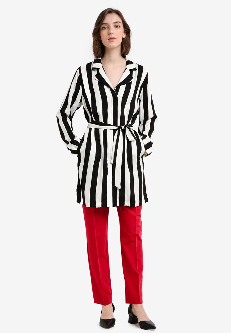 Print Stripe Prag Shirt Edit MbyM xwYSIPtcq