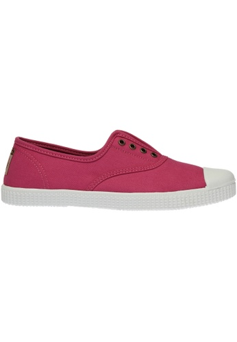paperplanes pink Paperplanes-1351 Casual Low Top Flats Canvas Sneakers Shoes US Women Size PA355SH82PNHSG_1