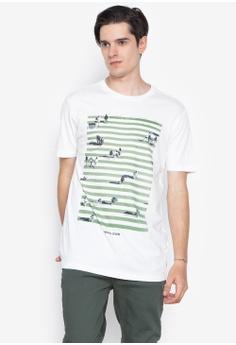 6508f305 Springfield beige T-Shirt Print Cross Over CEE1EAAC148FC0GS_1