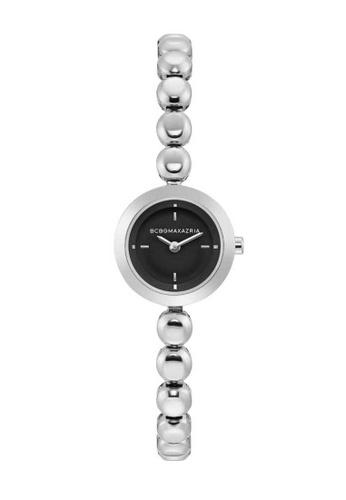 BCBG silver BCBGMAXAZRIA Silver Watch B4D2FAC6CFD640GS_1