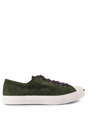 Converse green and multi Jack Purcell Jack-Ox 5EF3ASH7E61065GS 1 15c1d3ad49