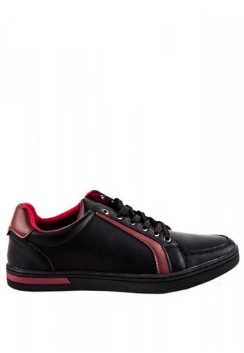 Otto black Men's Sneakers OT407SH0JDLHPH_1