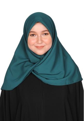 Bait Al Hijaab green SQUARE SCARF WURUD 88D08AAD27D968GS_1