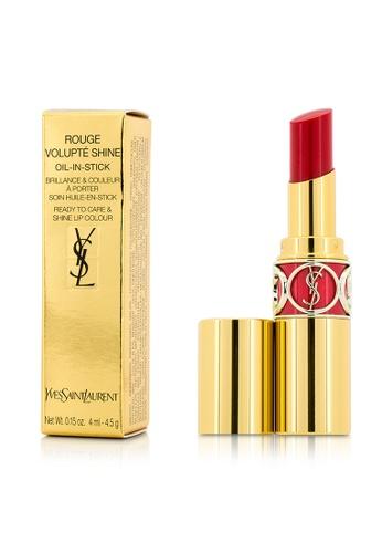 Yves Saint Laurent YVES SAINT LAURENT - Rouge Volupte Shine - # 45 Rouge Tuxedo 4.5g/0.15oz 33467BE978DF69GS_1