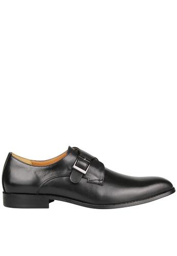 Tomaz black Tomaz F230 Single Monkstrap Loafers (Black) FCF73SH62EE104GS_1