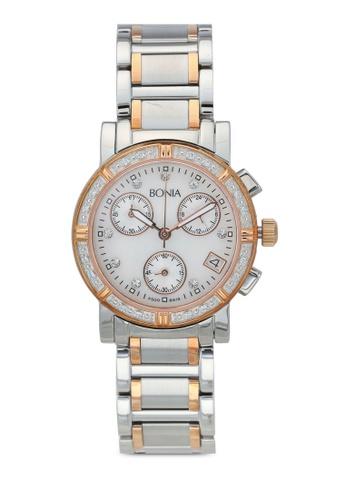 BONIA silver Bonia BNB619-2156C Stainless Steel Watch BO777AC0SE1JMY_1