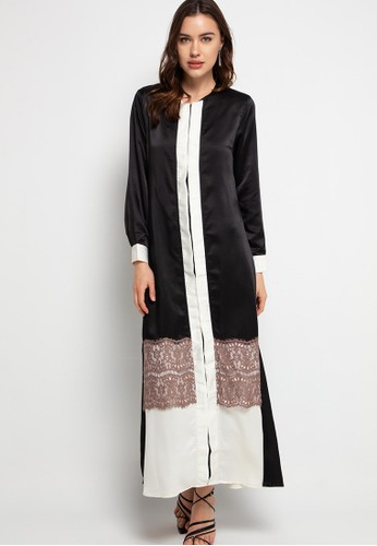 Covering Story black Quenby Dress 08517AA47EE5E6GS_1