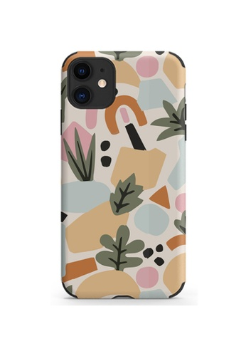 Kings Collection white Small Floral Pattern iPhone 12 Pro / 12 Case (KCMCL2125) 8F7A6AC033D5E0GS_1
