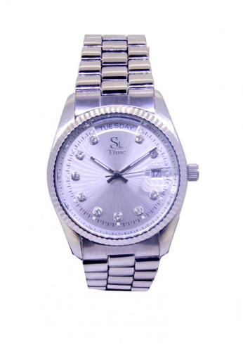 Sk Time Watch Shop silver Mechanical Automatic Rolex Design Watch BD1D2ACF32291FGS_1