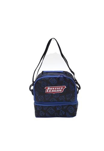 Locally Blend black Justice League Lunch Bag 6292AKC3E7078DGS_1