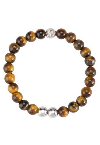 Oriesprit 台北ginal 17cm 混色雙色串珠手鍊, 飾品配件, 飾品配件