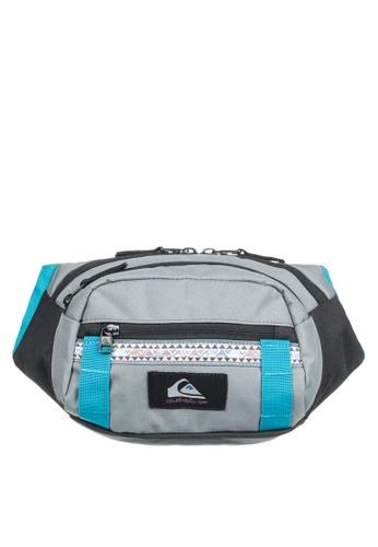 Quiksilver blue Lone Walker Bum Bag ABE8CACBBC9FEBGS_1