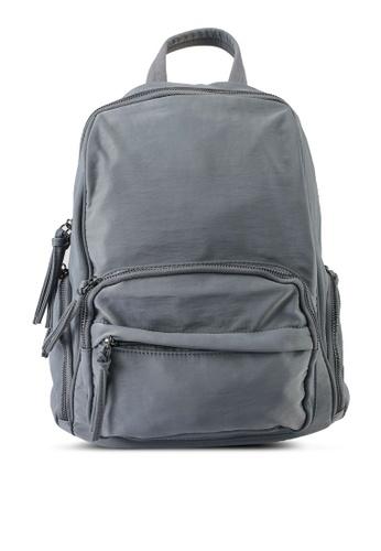 NUVEAU grey Oxford Nylon Backpack 49BC9AC9F0A740GS_1