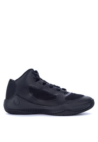 PEAK black E82007A Men's Basketball Shoes Combat Series Snake 2B483SH32CFA03GS_1