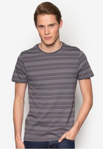 點點條紋短袖TEesprit outlet 台中E, 服飾, T恤