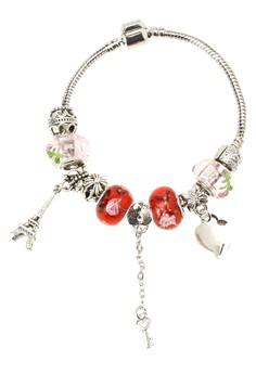 Love 2 Charm Bracelet