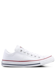 3a8ce89b14d1 Converse white Chuck Taylor All Star Madison True Faves Ox Sneakers  FCBADSH80A5CBBGS 1