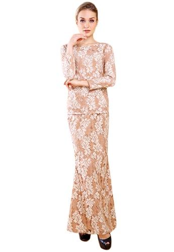 Maribeli Butik Elizabeth Lace - Brown from Maribeli Butik in Brown