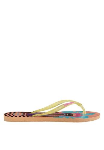 b488191b7d46 Shop Havaianas Slim Cool Flip Flops Online on ZALORA Philippines