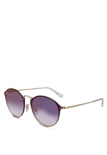 Ray-Ban gold RB3574N Sunglasses A87B3GL1E4300BGS_1