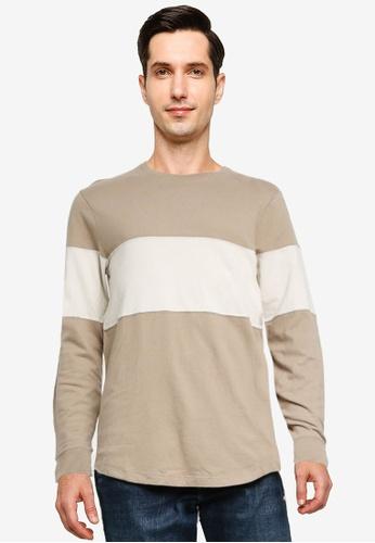 Abercrombie & Fitch 褐色 圓領T恤 C6892AA9269249GS_1
