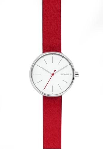 Skagen red Skagen Signatur Merah Watch SKW2615 SK533AC0S1QOMY_1