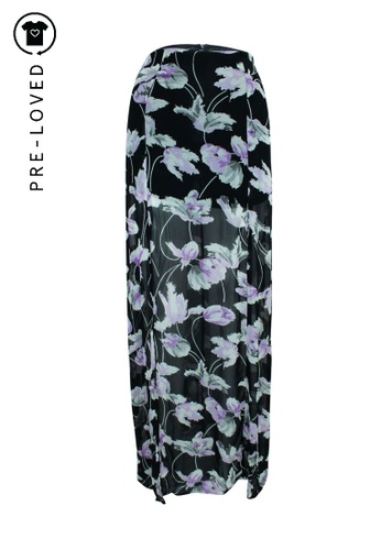 Reformation purple Pre-Loved reformation Purple Print Maxi Skirt E6019AAFCE63A9GS_1
