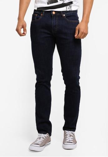 Electro Denim Lab 藍色 Calypso Slim Tapered Jeans 9C79FAAAD5C80DGS_1