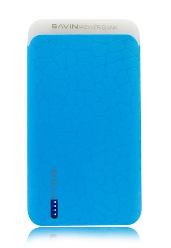 BAVIN blue 10000mAh Synigetic Powerbank with White LED Flash Light 51F7DACE86B46EGS_1