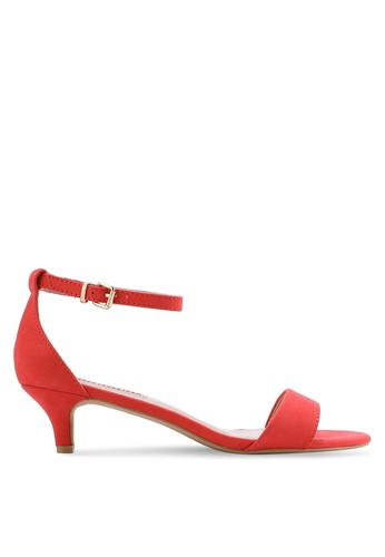 Dorothy Perkins orange Coral Sundae Heeled Sandals DO816SH61THQMY_1