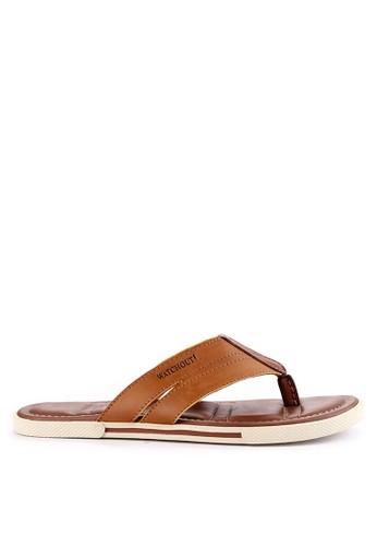 Watchout! Shoes brown Thongs 66828SH944DAF0GS_1