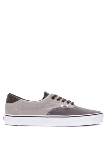 Vans grey Era 59 Lace-up Sneakers 184F1SH59BE741GS_1