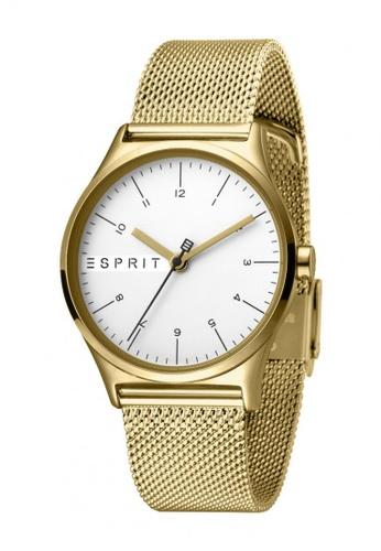 ESPRIT gold Esprit Women Essential Silver Gold Mesh-L ES1L034M0075 1AF88ACCBA284DGS_1