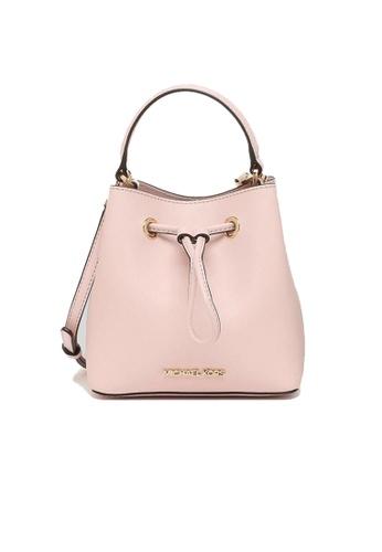 MICHAEL KORS pink Michael Kors Suri Small Bucket Crossbody Bag Power Blush 35T0GU2C0L 0F6EDAC21AECF7GS_1
