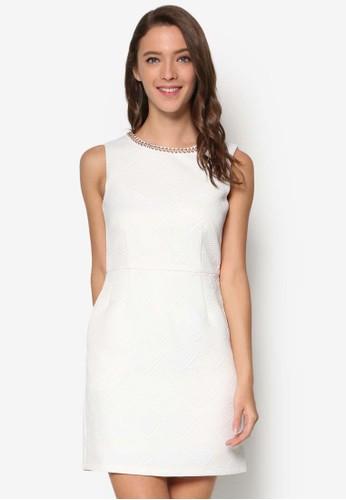 閃飾領無袖連身裙, 服飾esprit 童裝, 洋裝