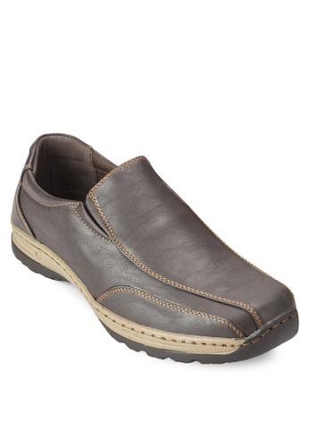 雙esprit香港分店色商務皮鞋, 鞋, 懶人鞋