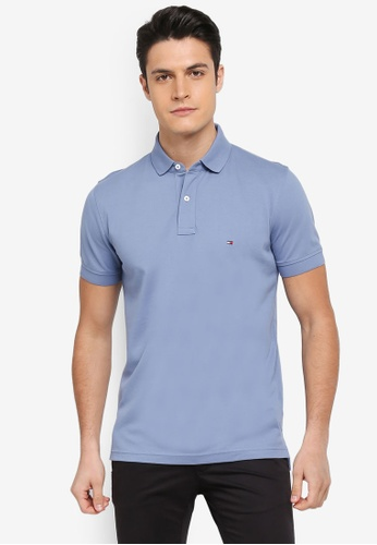 Tommy Hilfiger blue TOMMY REGULAR POLO A4425AABF8D10AGS_1